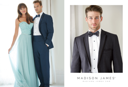 Allure Bridesmaids Style 1452 & Madison James Men