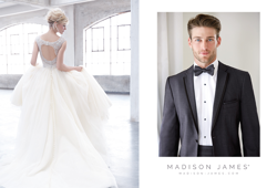 Madison James Style MJ200 & Madison James Men in Gray
