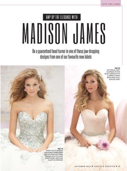 Madison James Bridal Styles MJ119 & MJ120