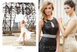 Madison James Special Occasion Style 15-154 and 15-110