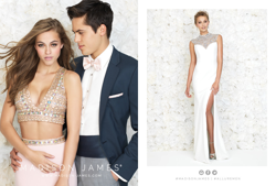 Madison James Special Occasion Style 15-145 and 15-182