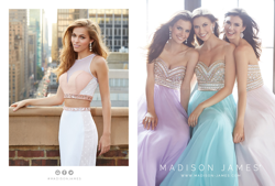 Madison James Special Occasion Style 15-102 and 15-116