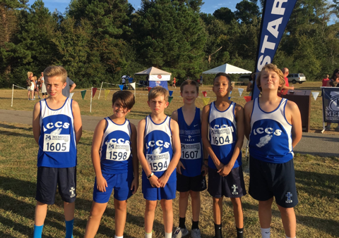 MS boys Cross Country
