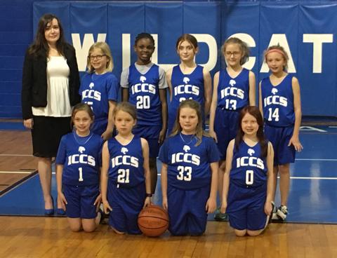 3rd/4th grade Girls basketball
