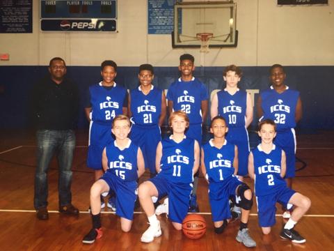 7th/8th grade Boys BB