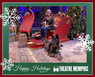 You can even take a photo with your pet(s) on The A Christmas Carol set.  Don