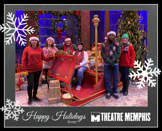 UPCOMING EVENT - Commemorate this festive season of the year with the perfect photo op! Schedule your family or friend group for a private photography session on the Theatre Memphis A Christmas Carol set.  Get your picture taken with the Ghost of Christmas Present sleigh, Fred and Millie party tree and Scrooge and Marley storefront. Bring your Santa cap, elf ears, jingle bells or your favorite ugly Christmas sweater for the perfect picture for your card this year.   Check out details at  https://theatrememphis.org/A-Christmas-Carol-Card-Photo.