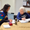 Citizenship class taught by Mary Russell