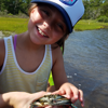 Summer camp is the perfect time for exploring the marsh.