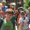 Summer Campers enjoy outdoor activities and crafts.
