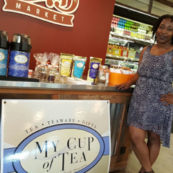 Tea Tasting at the Curb Market in Memphis