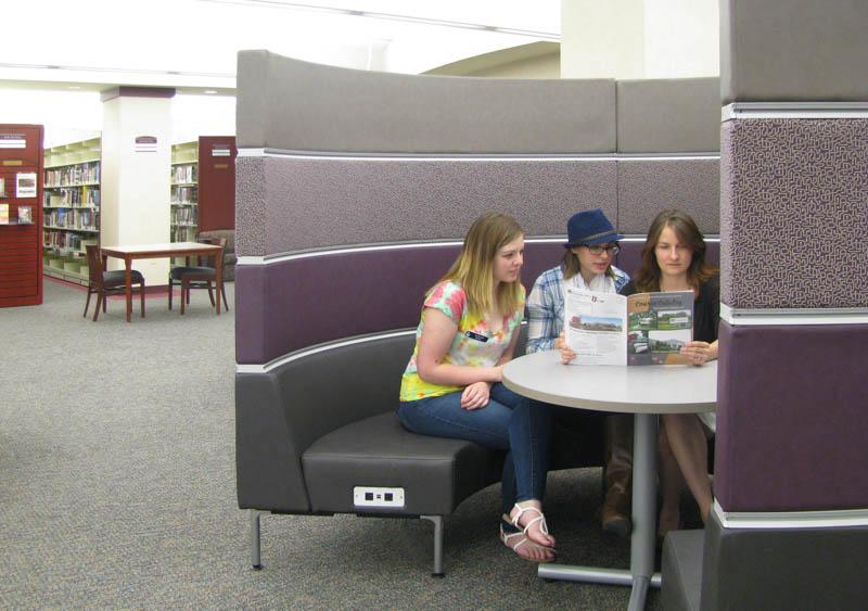 Palmer Hamilton | Public Library | Library Furniture