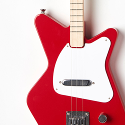 Loog PRO guitar in red - $179