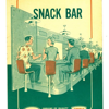 A Dobbs House airport snack bar flyer.