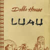 The front of a Dobbs house Luau menu. Dobbs House Luau was a Polynesian concept with 10 locations across the United States.