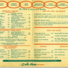 A Dobbs House menu after the company had expanded to snack bars, airline catering, gift shops, restaurants, airport lounges, and motel restaurants.