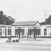 An early Hull-Dobbs Ford Dealership. The Dobbs family would remain in the car dealership business for 78 years.