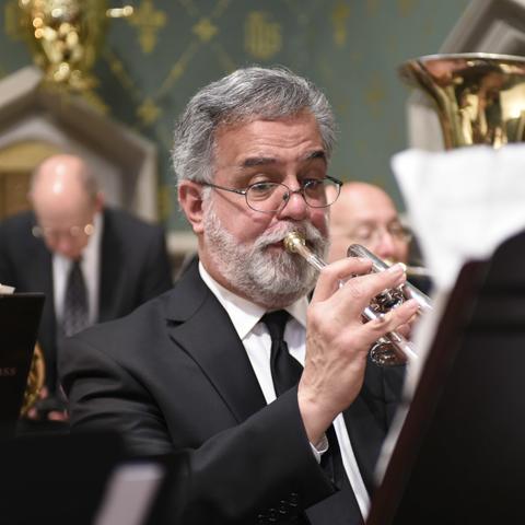Guest trumpeter Jeff Kresge
