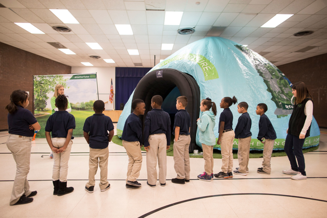 The Park Pod visits Tulsa Legacy Charter School, February 2016