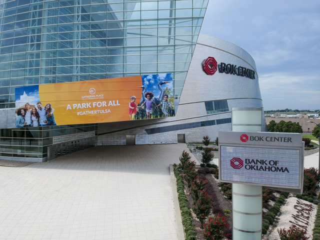 BOK Center, August 2018