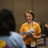 Campers have a blast in acting class.
