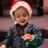 Kids had a blast creating their own Santa hats!