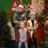 Kids lined up to meet Santa at Graceland.