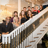 """Members of the """"General Hospital"""" cast on the staircase at The Guest House at Graceland."""