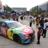 Kyle Busch's #18 M&Ms NASCAR Show Car  was a big hit at Graceland.