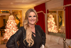 Trisha Yearwood visited Graceland after the Lighting Ceremony.