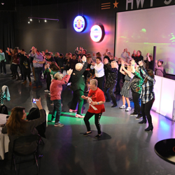 Elvis fans danced the night away at the Elvis Birthday Bash!