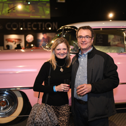 The Pink Cadillac makes a perfect photo op!