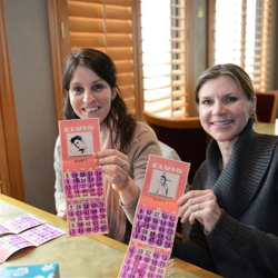 Guests play Elvis Bingo during the 2014 Birthday Celebration.