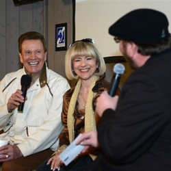 Special guests Wink and Sandy Martindale share their stories with Elvis at the Official Insiders Reception at Graceland.
