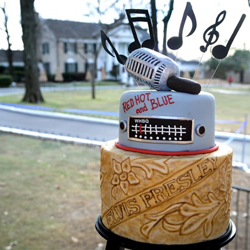 A cake topper fit for a king!