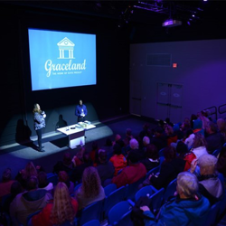 Angie Marchese, director of archives at Graceland, spoke to Graceland Insiders at a special show at the Archives Studio on January 7.