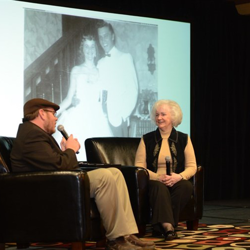 Dixie Lock Emmons remembers her first boyfriend, Elvis, at the Fan Club event on January 9.