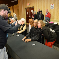 Fans meet and greet with special guests at the Fan club event on January 9.
