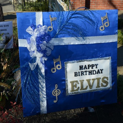 Fans from all over the world send gifts, cards and more to the Meditation Garden at Graceland.