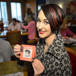 Fans played Elvis Bingo at Heartbreak Hotel on January 7.