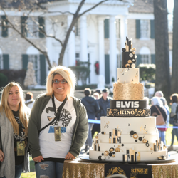 Fans from around the world gathered at Graceland to celebrate the king!