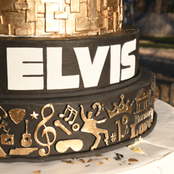 Check out those details on the birthday cake!