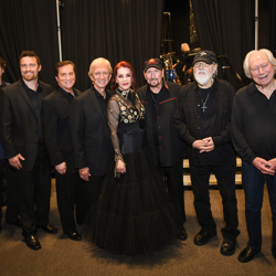 Backstage at the Elvis: Live in Concert event.