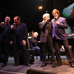 Terry Blackwood & the Imperials, with Jerry Schilling, at Elvis: Live in Concert.