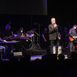 The TCB Band performed at the Elvis: Live in Concert event.