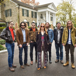 Country singer-songwriter Margo Price and her band