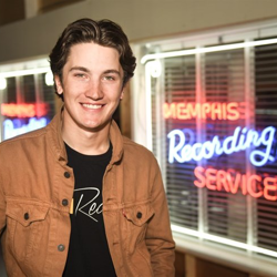 "Actor-singer Drake Milligan, who starred as Elvis on the CMT show ""Sun Records"""