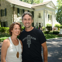 """American Pickers"" star Mike Wolfe and his wife"