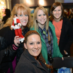 Elvis fans had fun with the Christmas-themed events at the Graceland Lighting Ceremony.