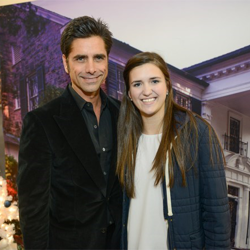 John Stamos met with Le Bonheur patients Madisen, Raegan, Kayla, Madison, Bethany and Madeline, as well as their families.